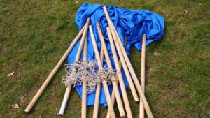 Campingdouche blauw (D1) Image